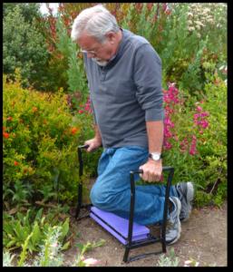 Reversible Garden Kneeler