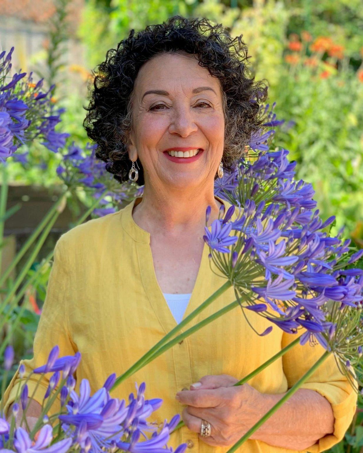 Author and Speaker and Gardener Toni Gattone