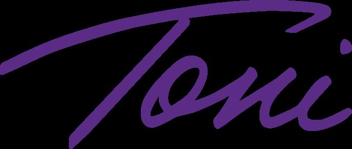 Handwritten Signature Toni Violet (1)