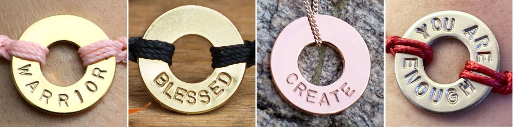 Setting your New Year intentions with MyIntent.org golden token rings